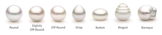 formas de perlas