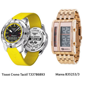Relojes atrevidos para hombre