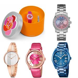 Relojes para el día de la madre