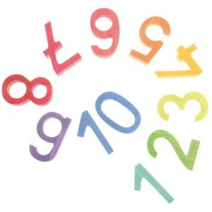 Números en arco iris