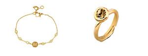 Pulsera y anillo estilo Paula Echevarría