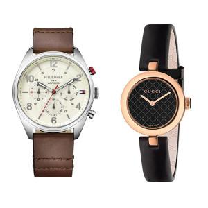 Relojes de cuero auténtico
