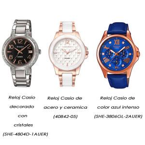 Relojes atemporales de Casio