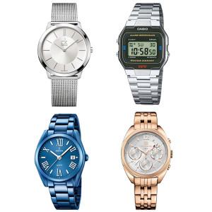 Relojes de acero o metal atemporales
