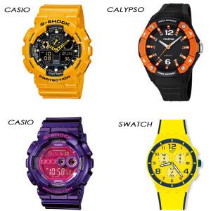 Relojes-plástico