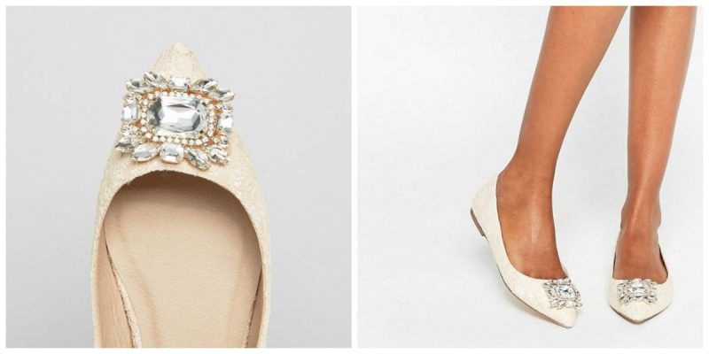 Zapatos con pedrería