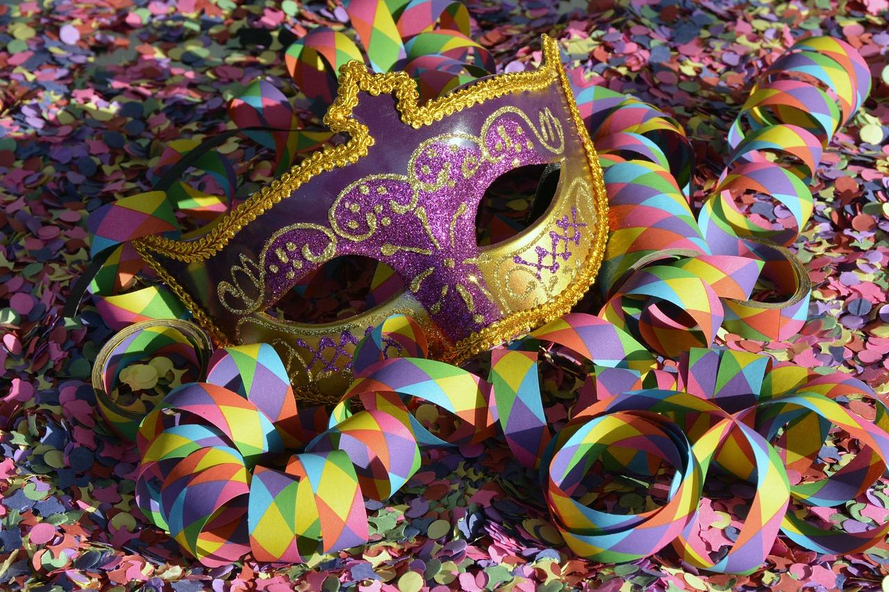 carnaval mascara