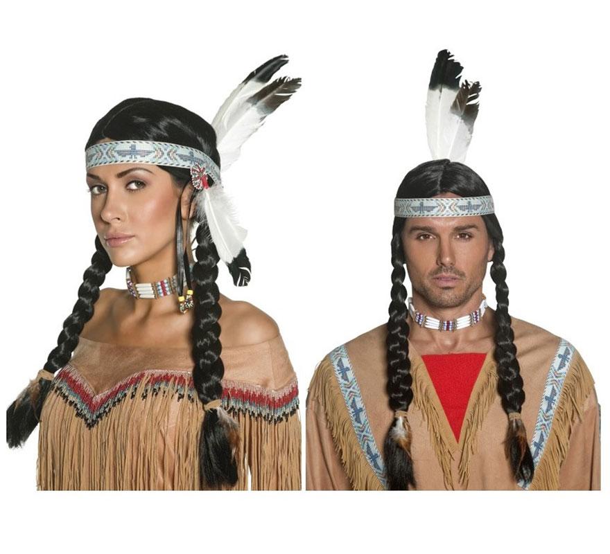 disfraz indio india