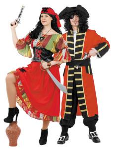 pirata disfraz mujer hombre