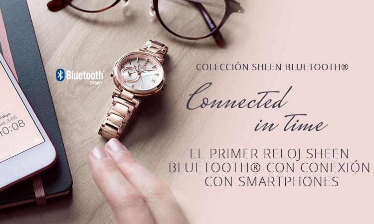 relojes casio bluetooth