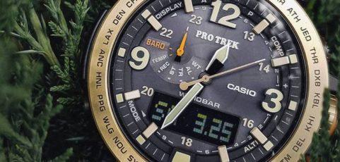 relojes casio pro trek