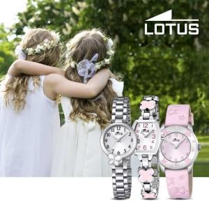 relojes Lotus Niños