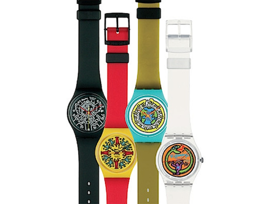 relojes swatch Keith Haring