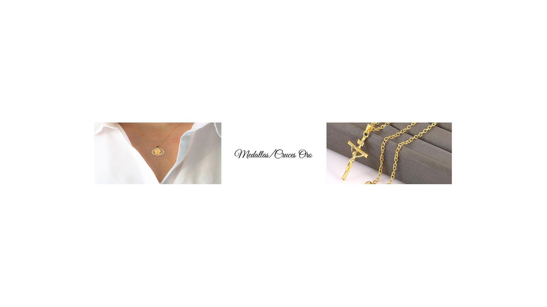 Medallas y cruces de oro comprar online