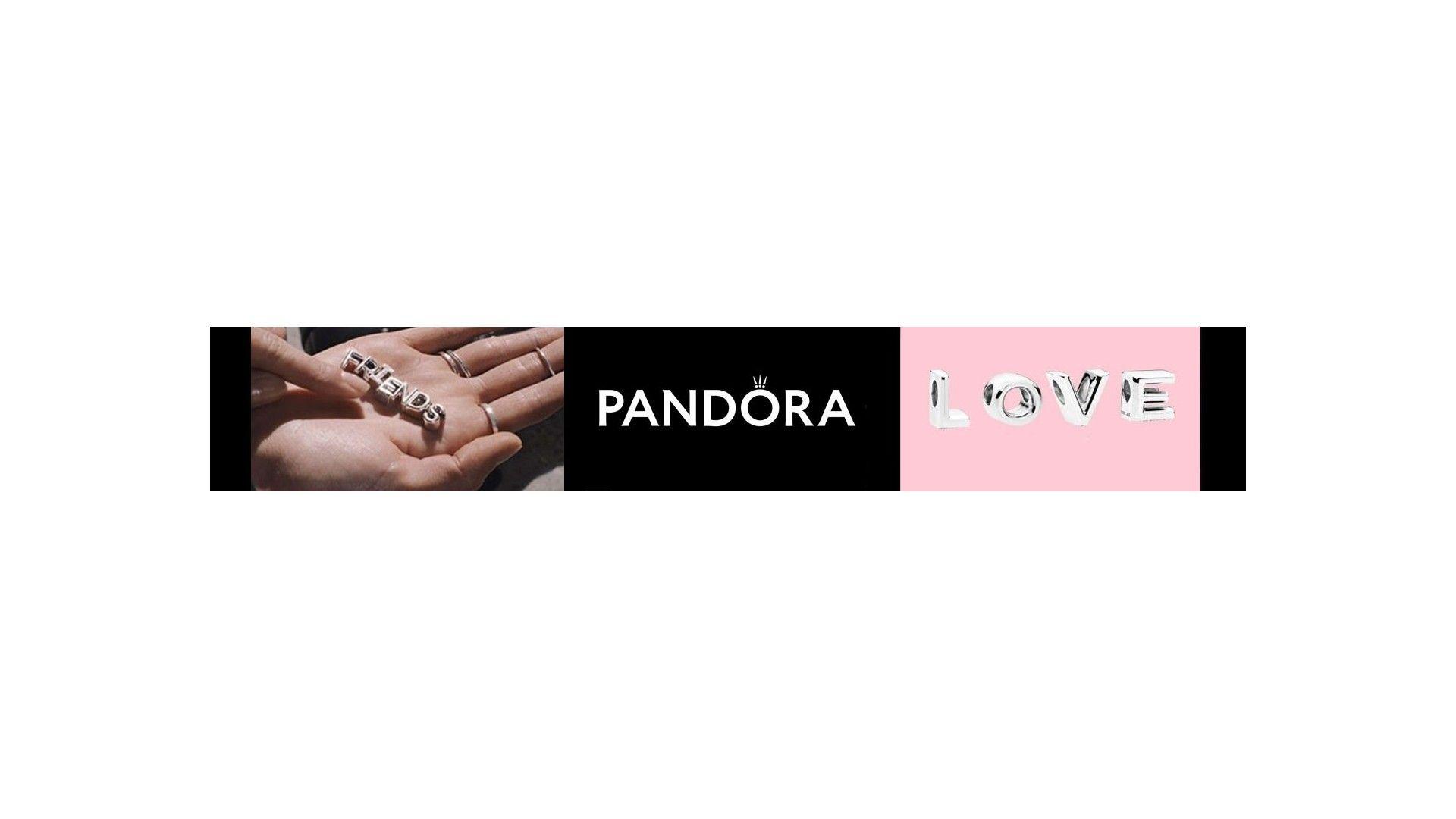 Abalorios Letras Pandora