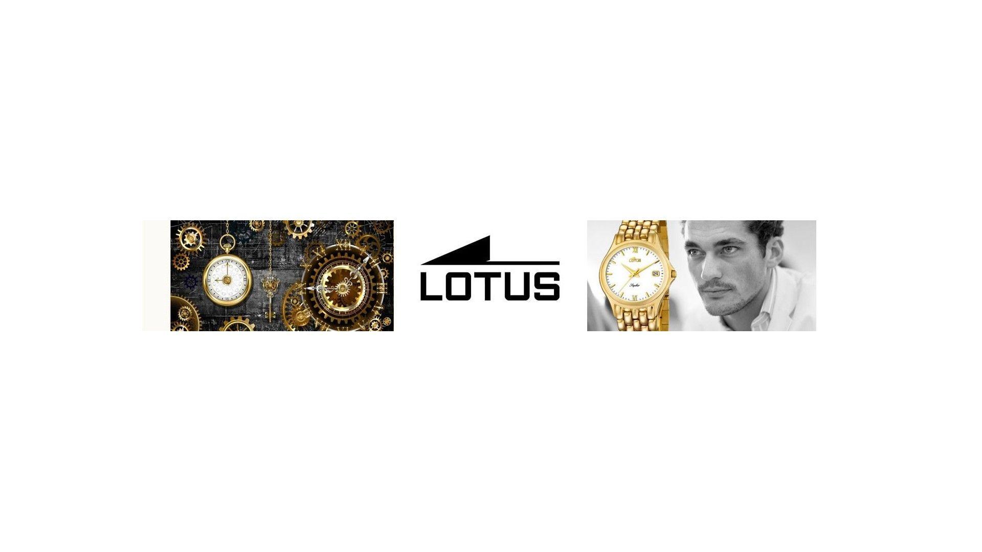Relojes Lotus Oro Hombre