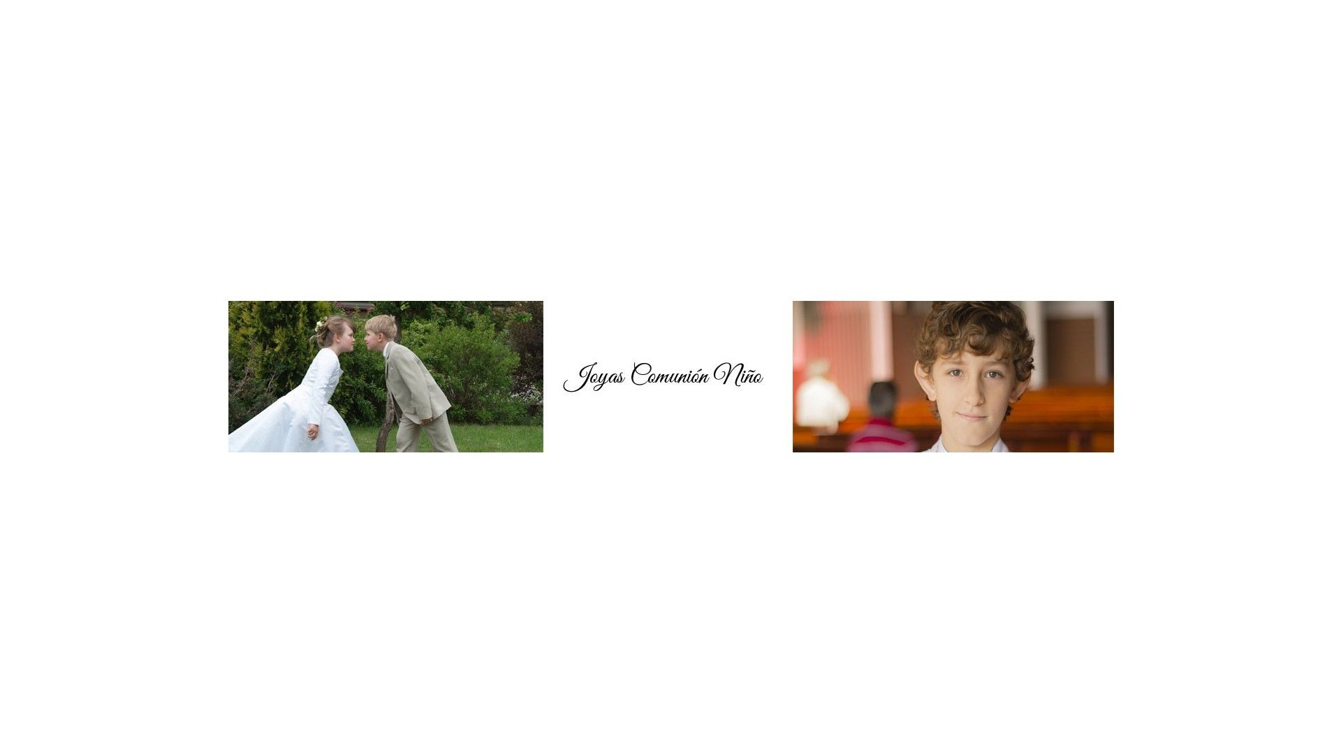 Joyas para niños - Comunión