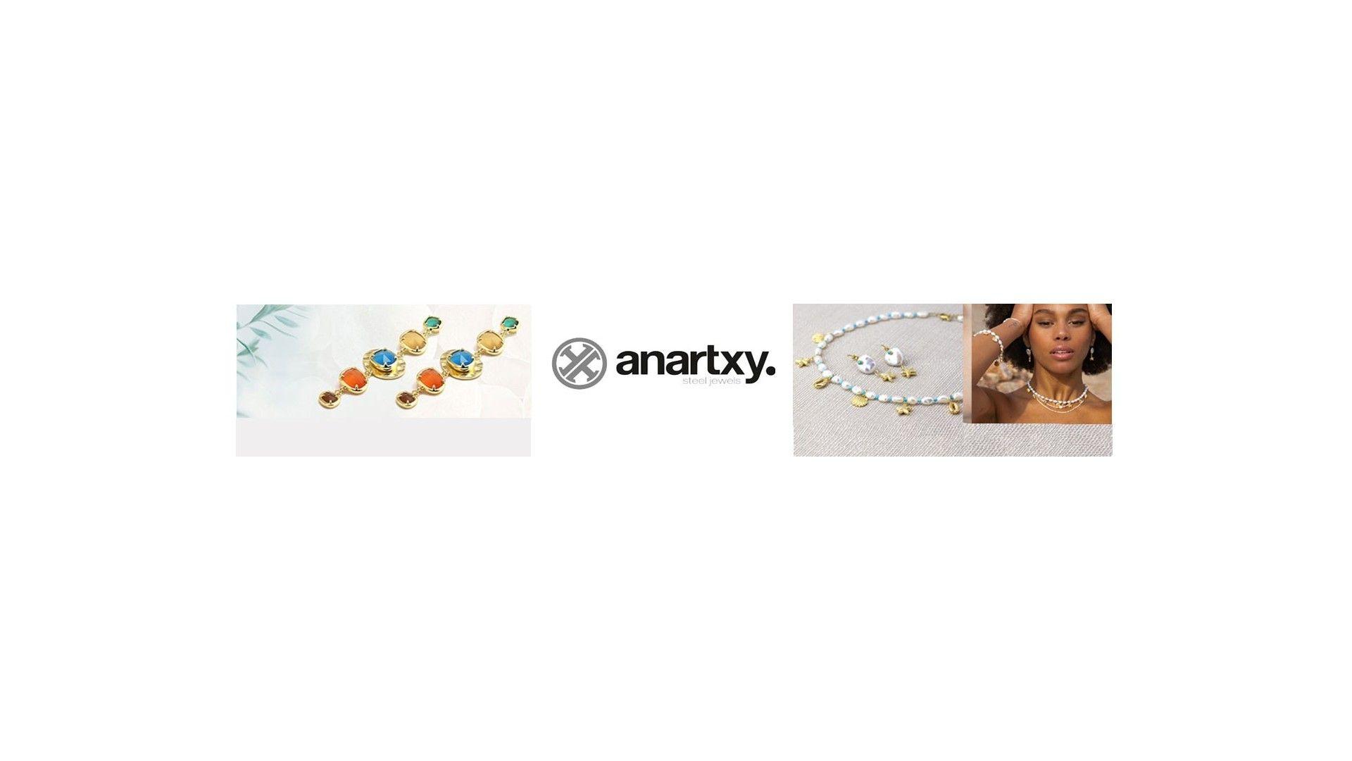 Joyas Anartxy de Acero y Bisutería
