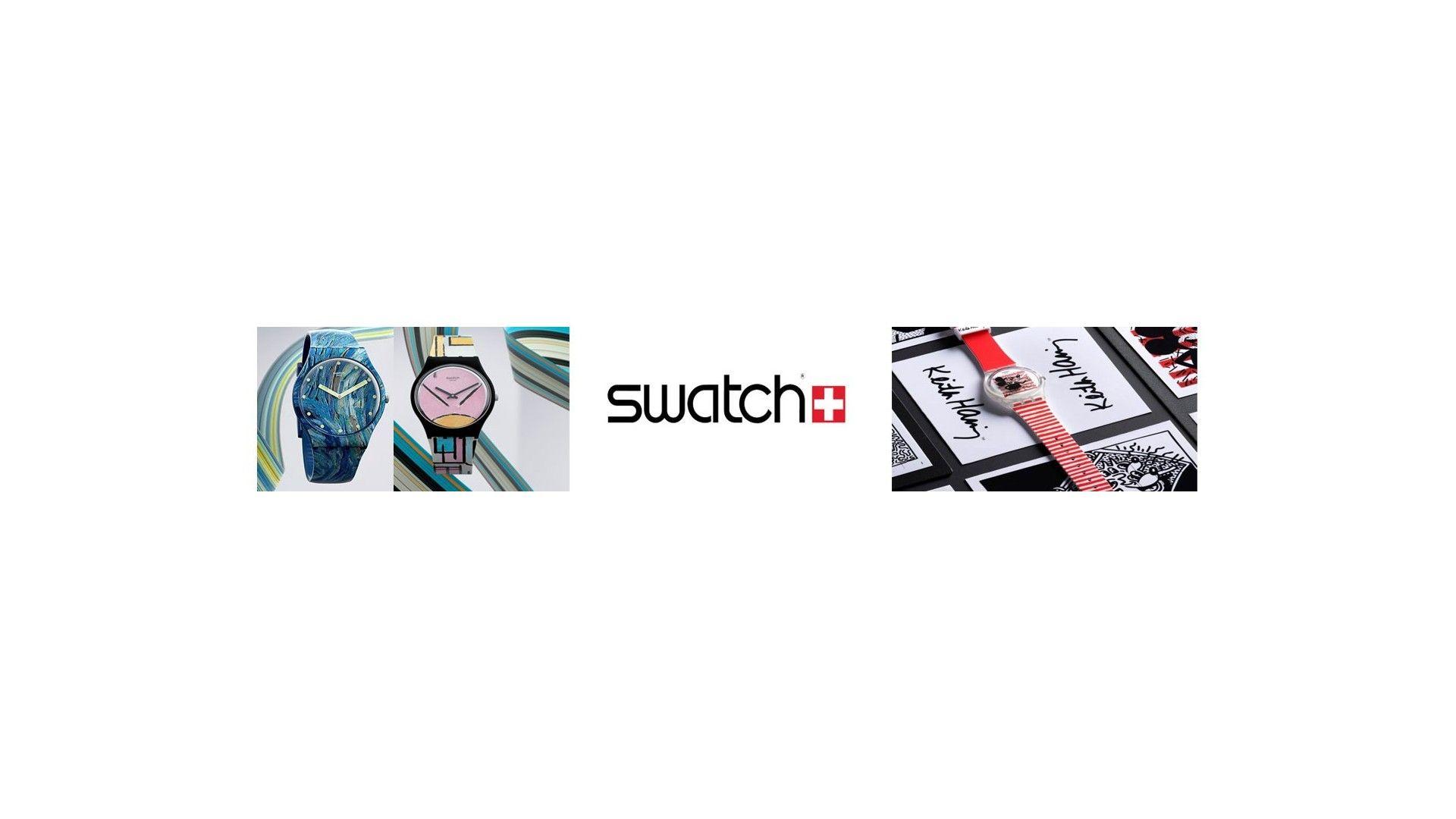 Relojes Swatch art