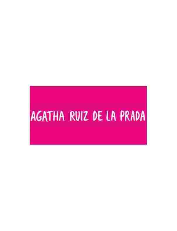 Collar Agatha Ruiz Plata Abecedario Love 105ABC